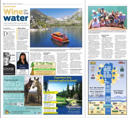 Sierra Sun Tahoe Wine Tasting August 25 2016